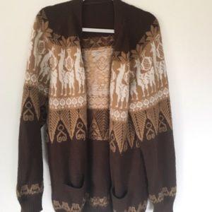 Sweaters - (I believe) handmade neutral sweater